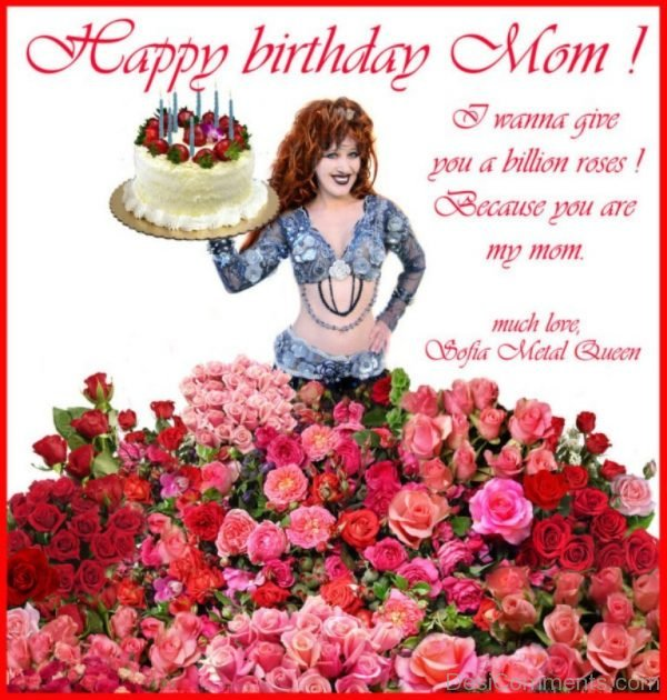 Happy Birthday Mom Image