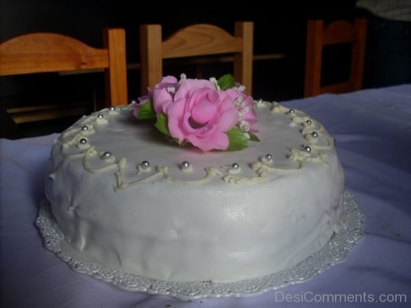 Happy Birthday My Dear - Nice Cake Image