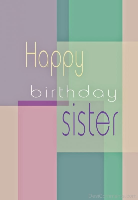 Happy Birthday Sister Photo