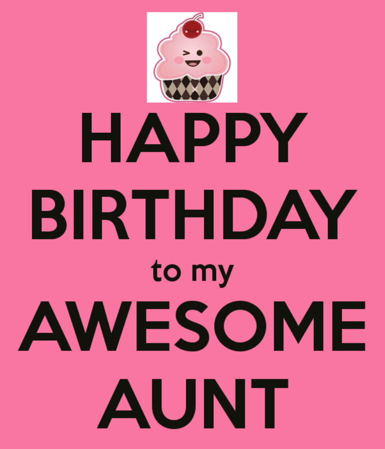 Happy Birthday To My Awesome Aunt Desicomments Com