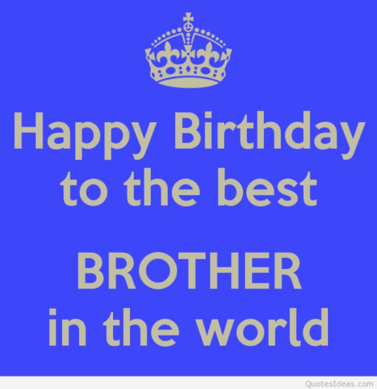 happy birthday to the best brother