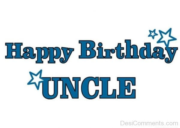 Happy Birthday Uncle Image