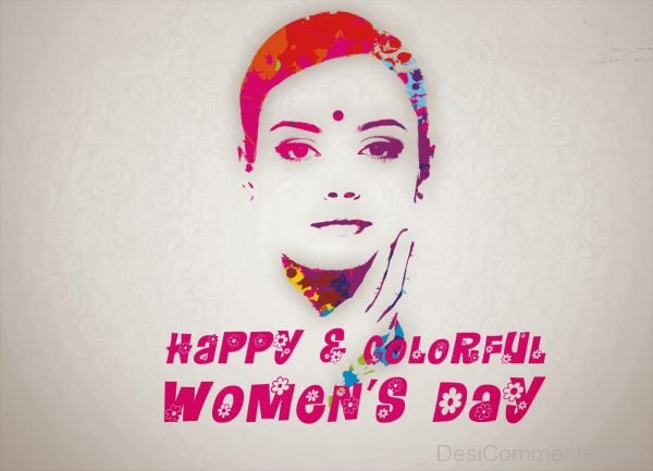 Happy Colorful Women's Day