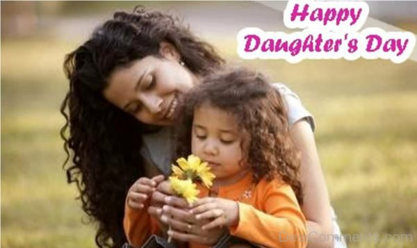 Happy Daughters Day Pic