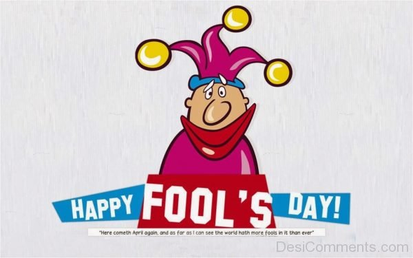 Picture: Happy Fools Day Pic