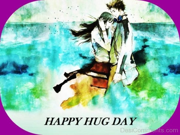 Happy Hug Day Cute Picture