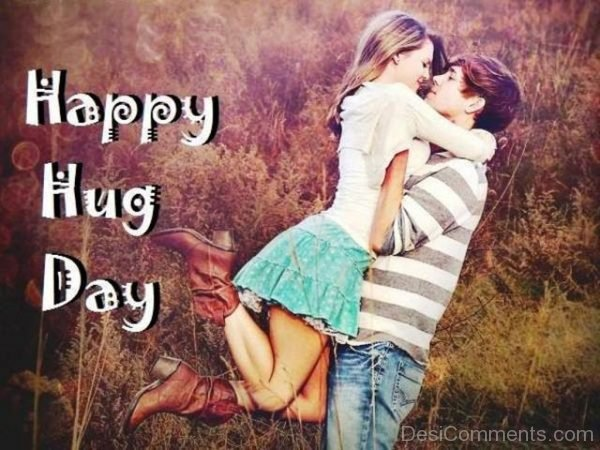 Happy Hug Day Lovely Image