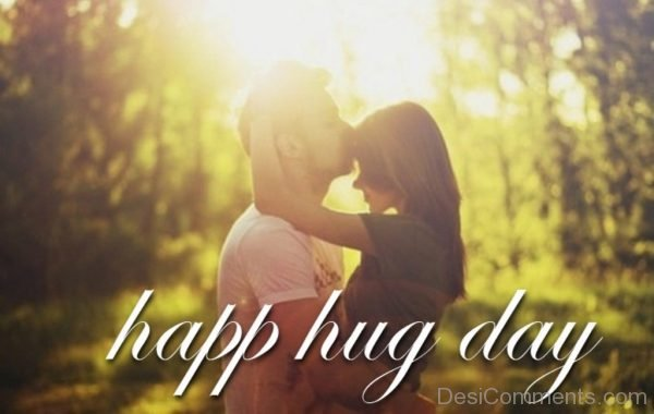 Happy Hug Day Romantic Pic