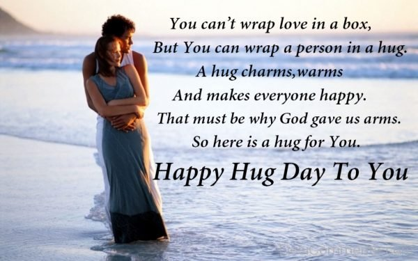 Happy Hug Day To You