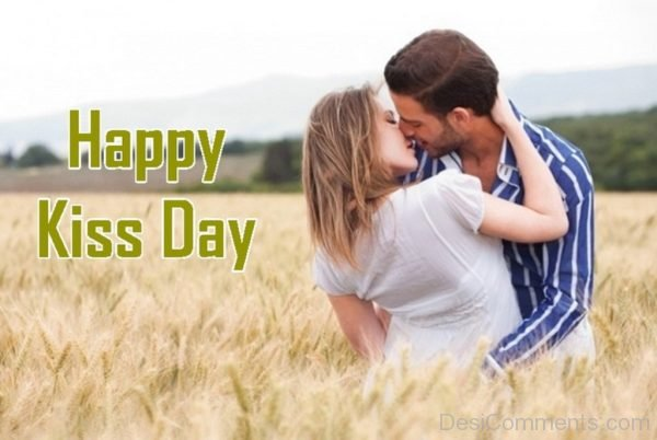 Happy Kiss Day Lovely Pic