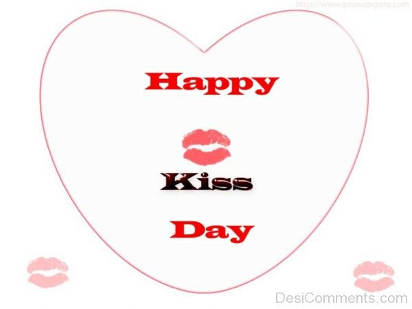 Happy Kiss Day Picture !