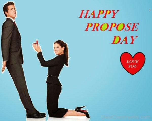 Happy Propose Day Love You