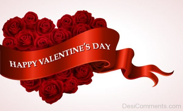 Happy Valentine Day Rose Image