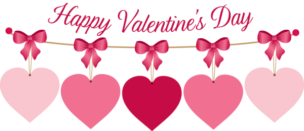 Happy Valentine Day With Beautiful Hearts