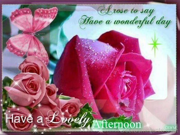 Have A Lovely Good Afternoon