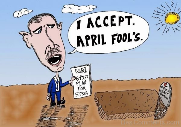 Picture: I Accept April Fools Day