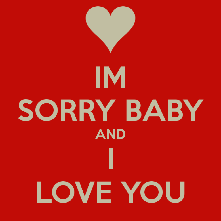 Sorry pictures images graphics i am sorry baby and i love you thecheapjerseys Images