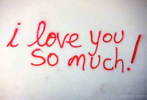 I Love You So Much !