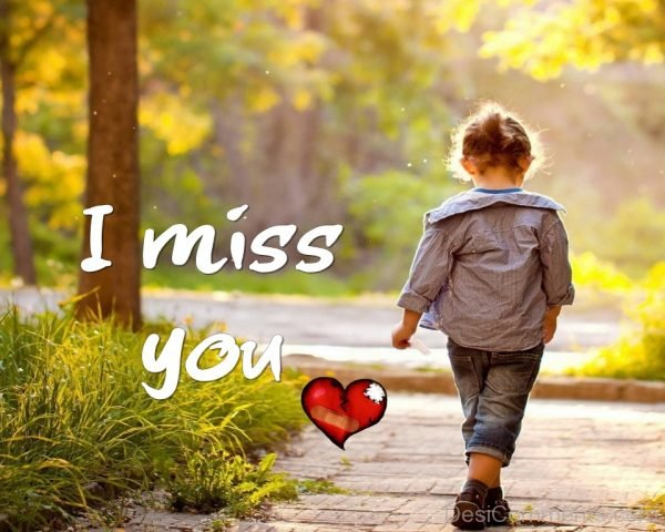 I Miss You – Picture