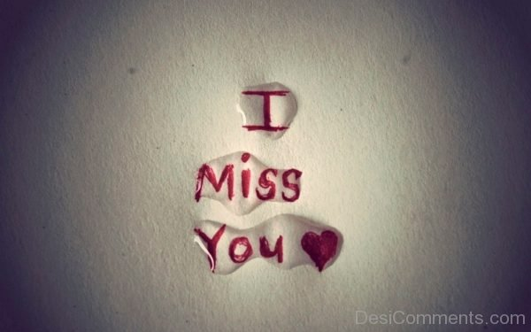 Picture: I Miss You Picture