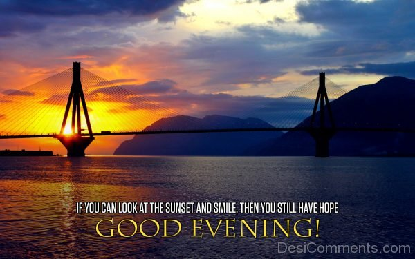 If You Can Look At The Sunset And Smile