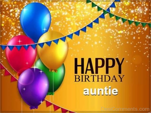 Image Of Happy Birthday Auntie