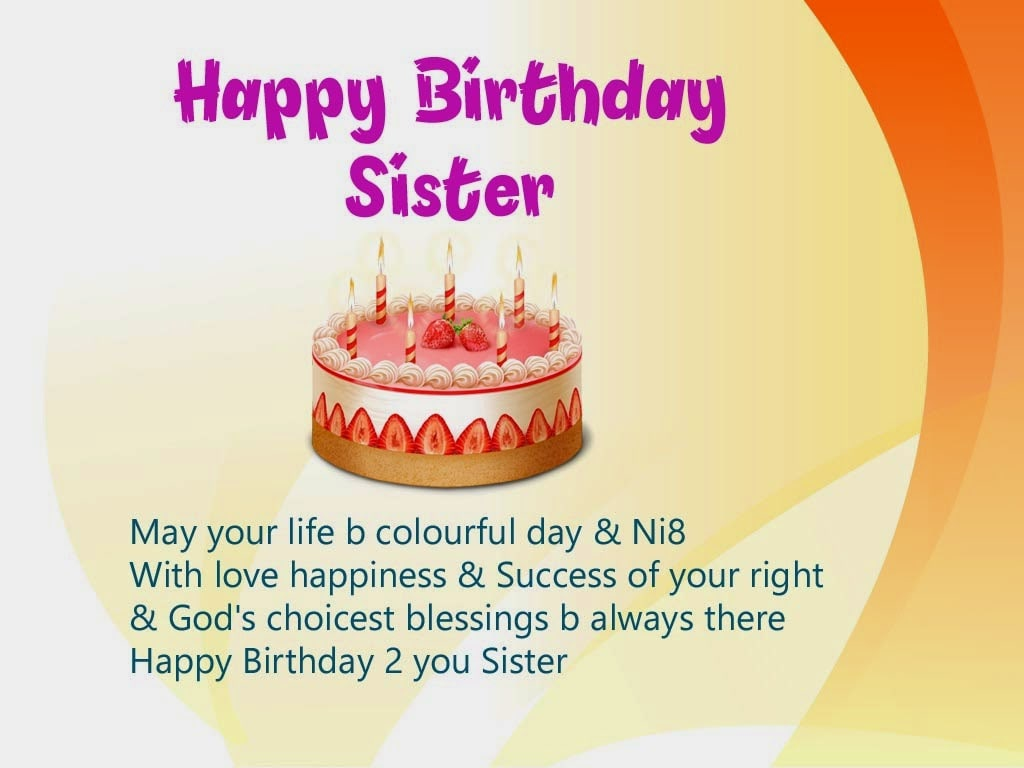 Birthday wishes for sister pictures images graphics image of happy birthday sister kristyandbryce Choice Image