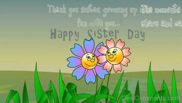 Image Of Happy Sisters Day