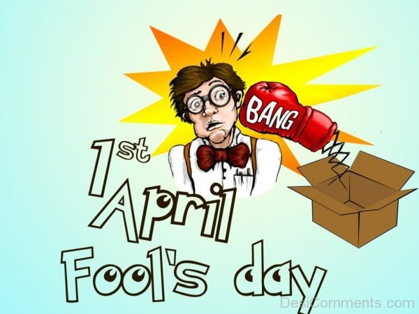 Ist April Fools Day Pic
