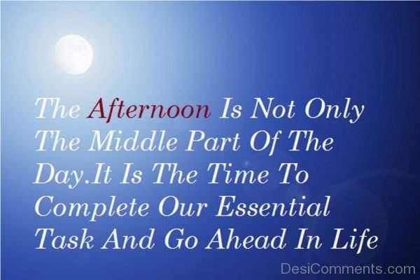It Is The TIme TO Complete Our Essential Task