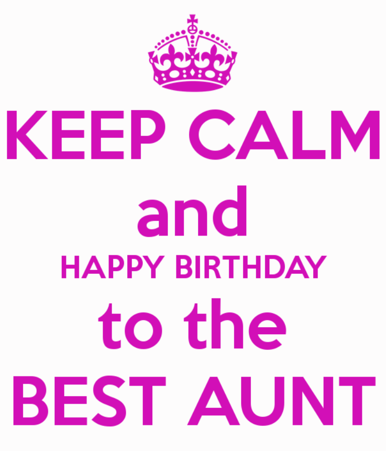 Birthday Wishes For Aunt Pictures, Images, Graphics