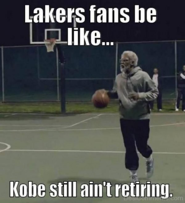 Picture: Lakers Fans Be Like