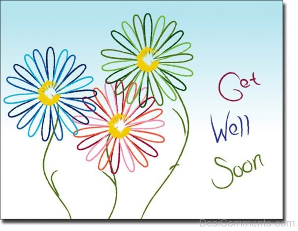 Lovely Get Well Soon Photo