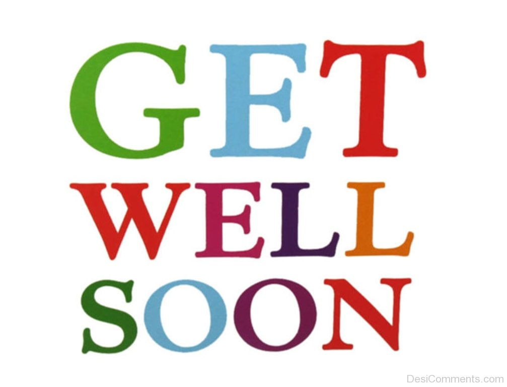 Striking image pertaining to get well soon printable
