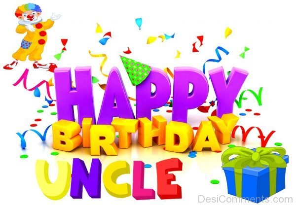 Lovely Pic Of Happy Birthday Uncle