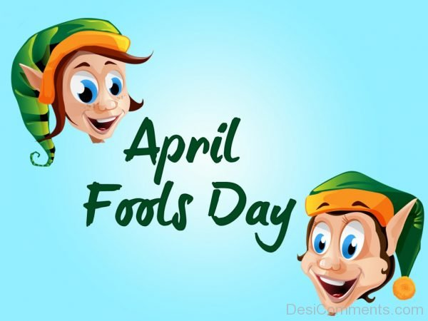 Lovely Picture Of April Fools Day