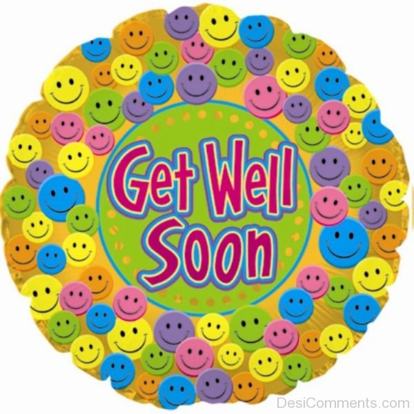 Lovely Picture Of Get Well Soon