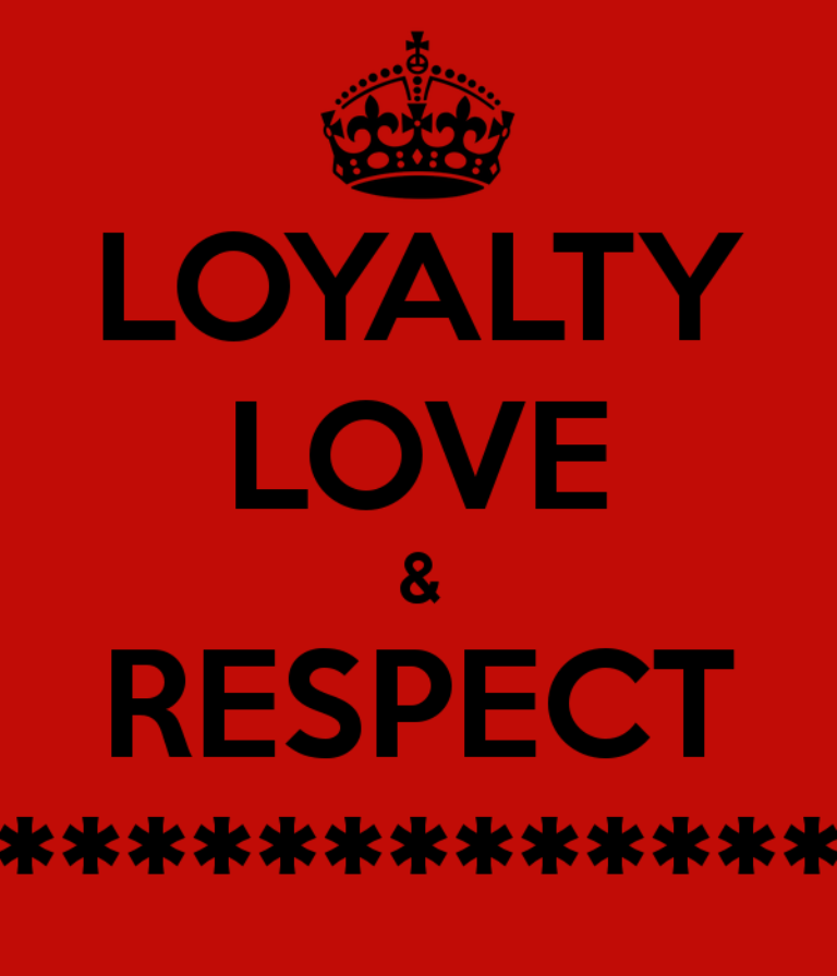 Love And Respect: Loyalty Pictures, Images, Graphics For Facebook, Whatsapp