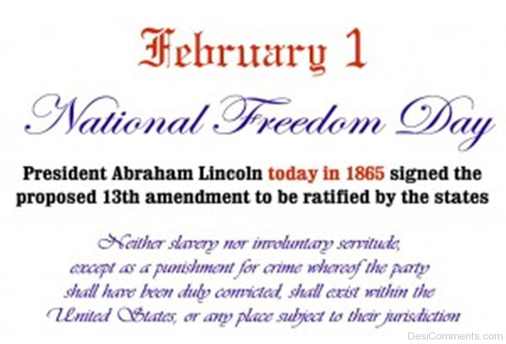 National Freedom Day Quotes