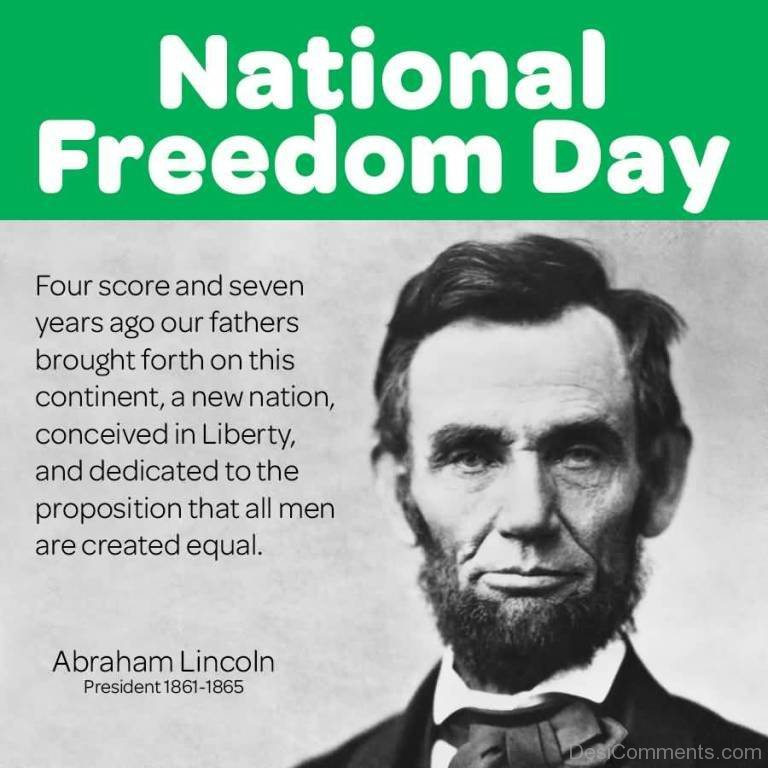 Good National Freedom Day With Quotes
