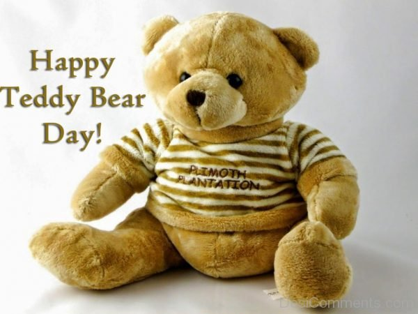 Outstanding Pic Of Happy Teddy Bear Day
