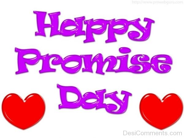 Outstanding Pic Of Promise Day