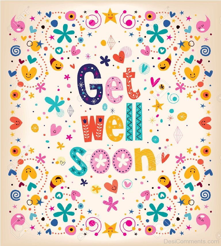 Get Well Soon Pictures, Images, Graphics for Facebook, Whatsapp