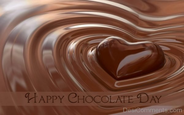 Photo Of Happy Chocolate Day