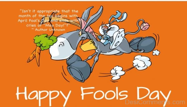 Pic Of Happy Fools Day