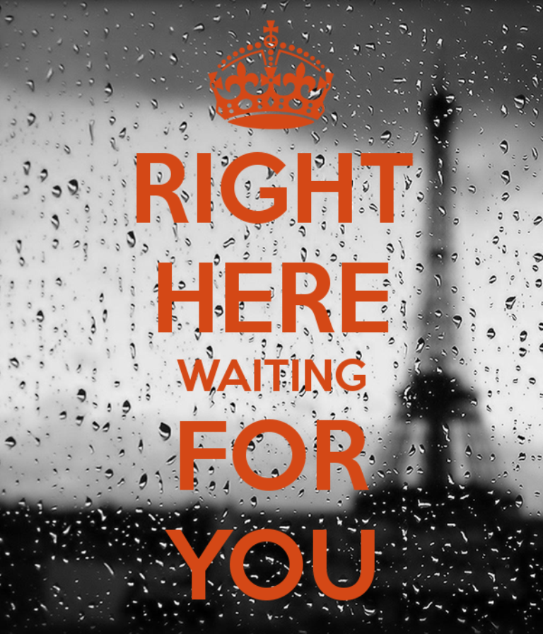 Right Here Waiting For You - DesiComments.com