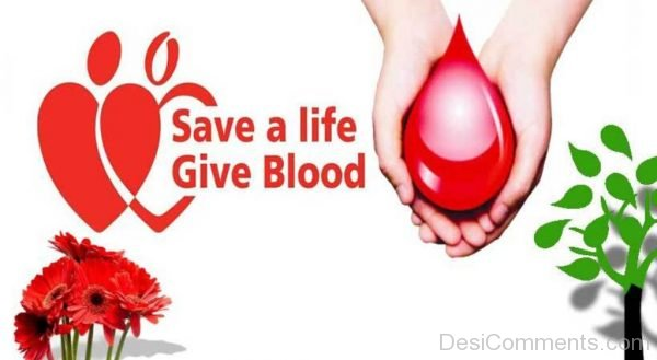 Save A Life Give Blood Image