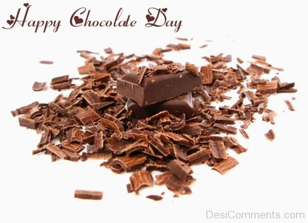 Stunning Happy Chocolate Day Pic