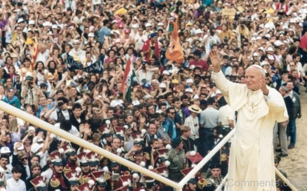 Stunning World Youth Day Pic