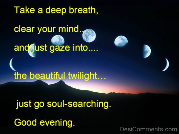Take A Deep Breath